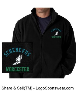 SW Track Fleece warm up jacket Design Zoom